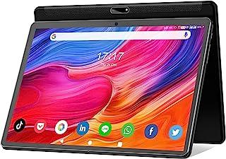 Tablet 10 pulgadas Android 10 Tablet 2021 última actualización procesador Octa-Core con almacenamiento de 32 GB, doble cám...