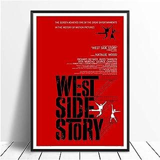 Originele West Side Story (1961) Vintage Classic Movie Poster Home Decor Wall Decor Wall Art Canvas schilderij Cnavas prin...