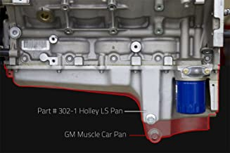 Holley 302-1 GM LS Retro Fit Engine Oil Pan