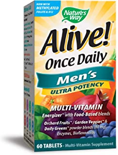 Nature's Way, Alive. Once Daily, Multi-Vitamin, 60 Tablets
