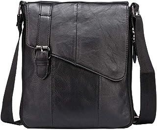 713cd925a7 Borsa da uomo in vera pelle borsa a tracolla vintage Messenger Borsa a tracolla  da lavoro