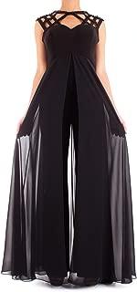 FABIANA FERRI Luxury Fashion Womens 30111BLACK Black Jumpsuit | Spring Summer 19