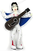 Silk Road Bazaar Elvis Presley Felt Ornament