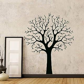 Autocollant mural autocollant arbre pour salon décoration murale vinyle amovible..