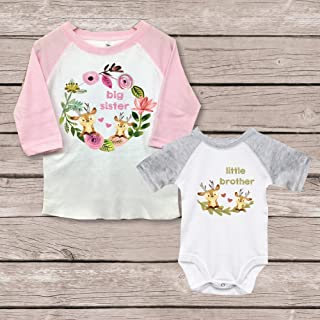 42973d889 Big Sister Little Brother Shirts Onesie New Big Sister Matching Baby Shower  Gift