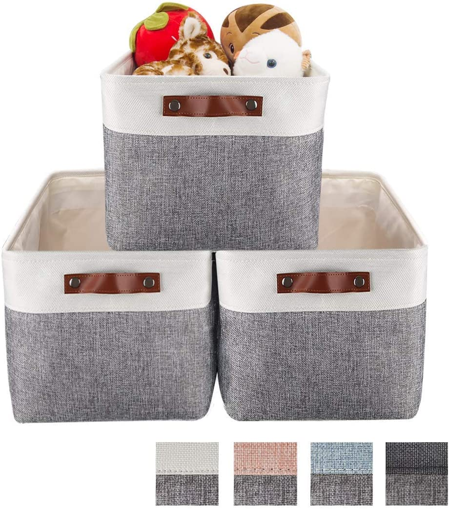 HEWEI Foldable Storage All items free shipping Basket Set for Large Popular brand Fabric Boxes