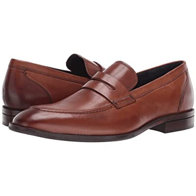 Cole Haan Warner Grand Penny Loafer (British Tan) Men