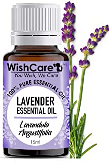 WishCare® Lavender Essential Oil 15 ML - 100% Pure, Undiluted & Natural