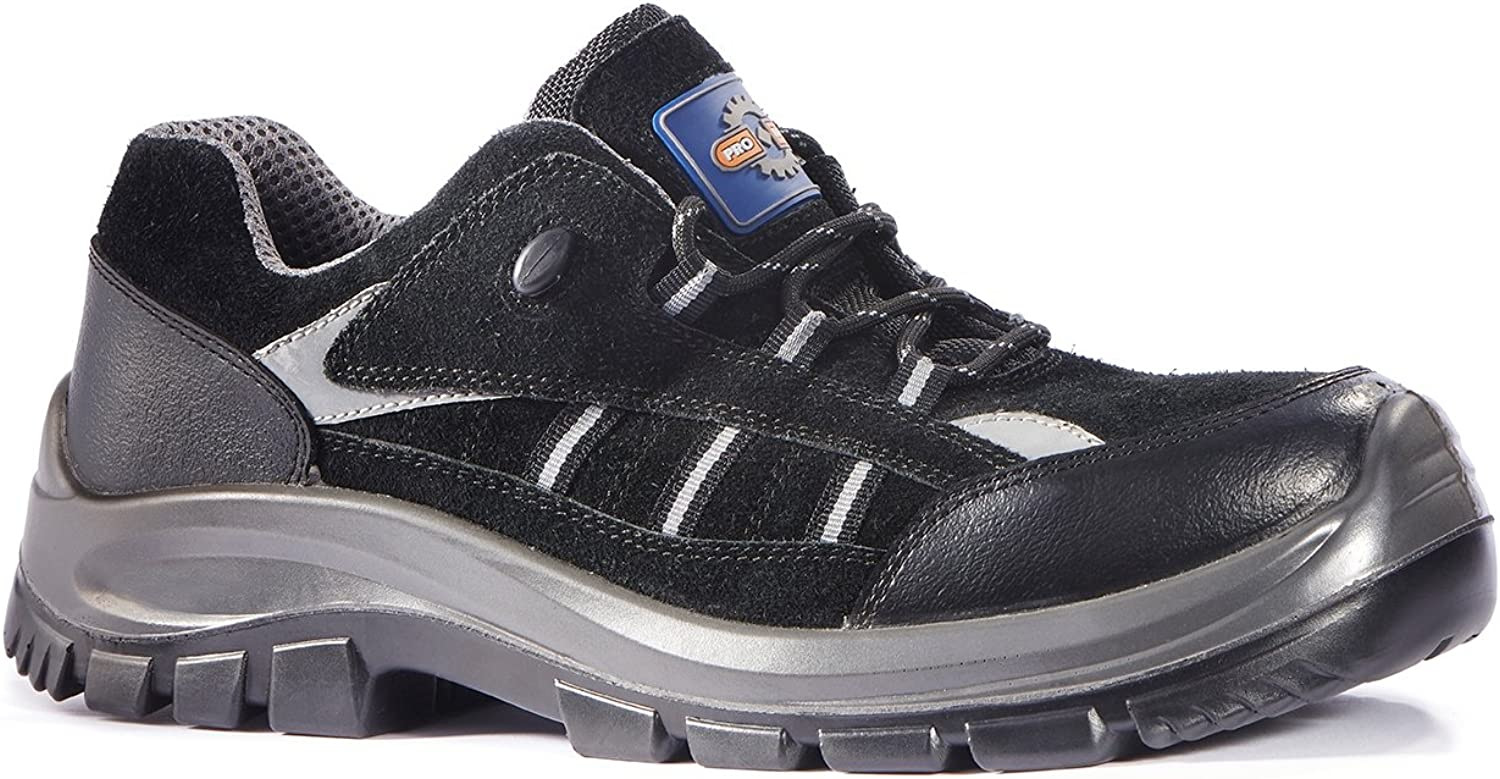 Rock Fall Pro Man Bridgeport ESD Composite Toe Cap Non-Metallic Safety Sports shoes Sneakers