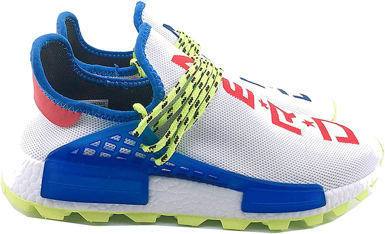 Tunsen Men Women Fashion PW NMD Human Race Sneaker Casual Breathable Lightweight Mesh shoes