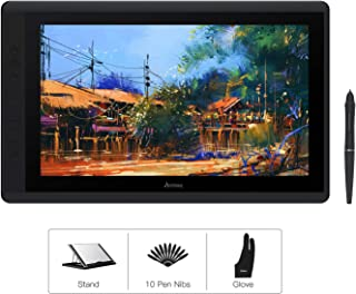 Artisul D16 15.6 Inch Drawing Tablet with Screen FHD Graphics Drawing Monitor Pen Display with 8192 Levels Pen Pressure 7 ...