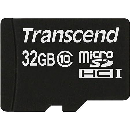 旧モデル Transcend microSDHCカード 32GB Class10 変換アダプタ無し TS32GUSDC10