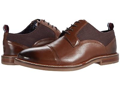 Ben Sherman Birk Cap Toe (Brown Leather) Men
