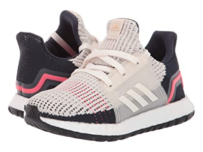 adidas Kids UltraBoost 19 (Toddler) (White/Black/Grey) Kids Shoes
