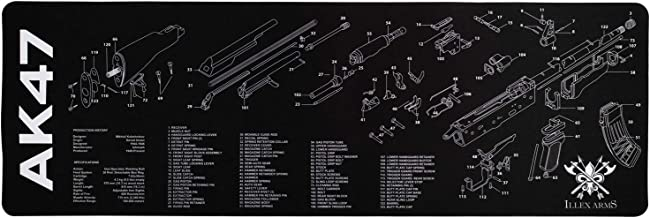 Illex Arms Gun Cleaning Mat for use with AK47