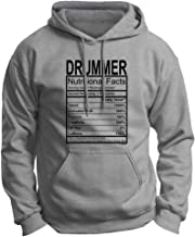Drummer Gift Nutritional Facts Gag Gifts Funny Premium Hoodie Sweatshirt Large LtStl