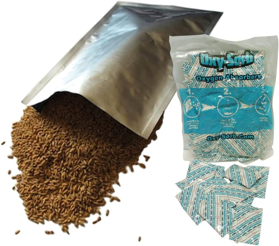 Mylar Bags Oxygen Credence Absorbers for Dried Storage Term Financial sales sale Food Long