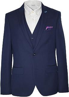 HARRY BROWN Men's Suit Dandy Slim Fit 3 Piece
