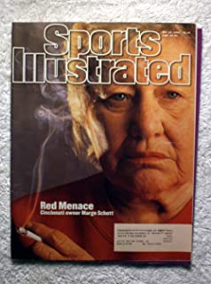 Cincinnati Reds Owner - Marge Schott -The Red Menace - Sports Illustrated - May 20, 1996 - Smoking - SI-2