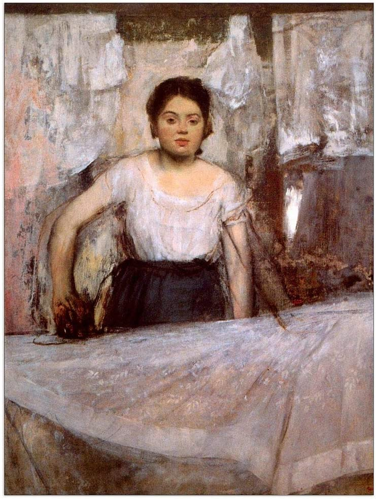 Max 81% OFF ArtPlaza Degas Edgar - Woman Panel Decorative All items in the store Ironing 27.5x35.5