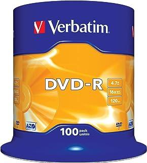2x 50 DVD VERBATIM -R 16X 4.7GB ENVIO URGENTE o TARRINA 100