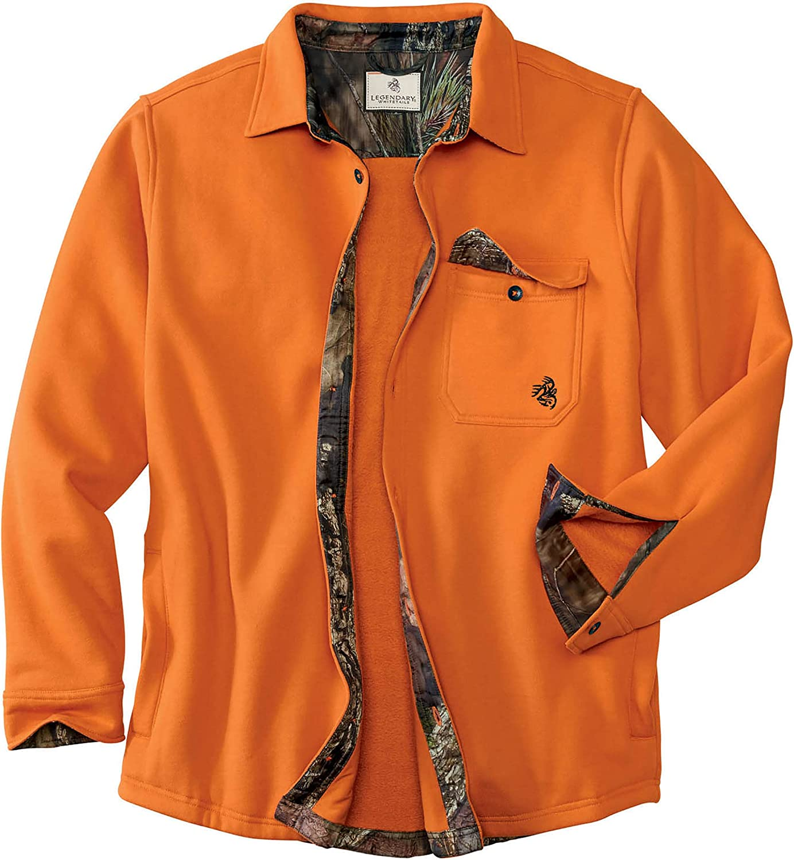 Legendary Whitetails Men's Big Woods Fleece Shirt Jacket