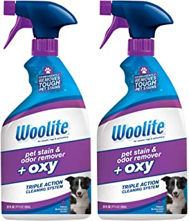 Woolite Pet Stain and Odor Remover Plus Oxy, 22oz (Pack...
