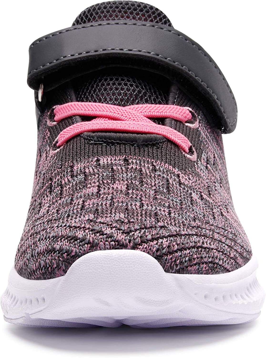 Spesoul Kids Fashion Sneakers Outdoor Lightweight Breathable Athletic Running Walking Shoes for Girls Boys