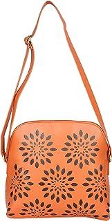 Butterflies Women's Handbag (Orange) (BNS 0541LORG)