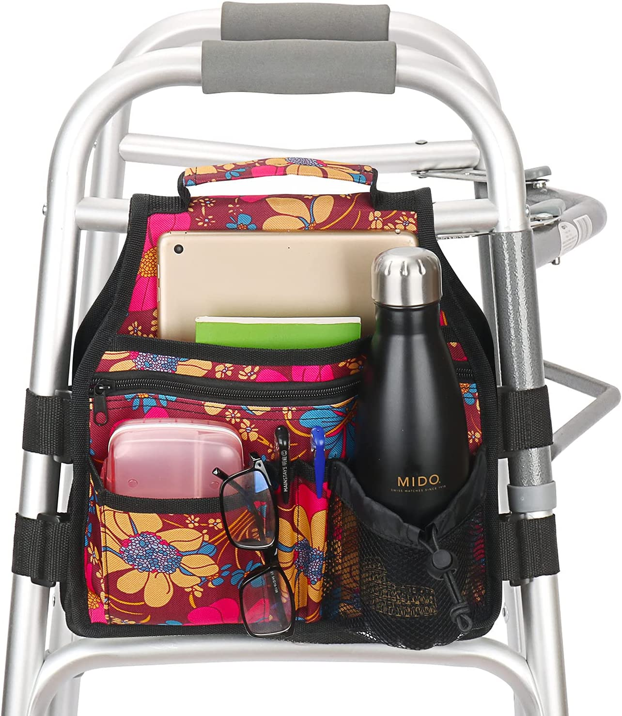 Side Walker Bag with Cup Holder Walkers Accessarie Folding Outlet sale feature New sales