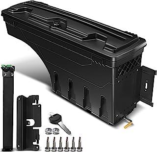 A-Premium Lockable Truck Bed Storage Box Case Tool Box Replacement for Chevrolet Silverado 1500 2500 3500 GMC Sierra 1500 2500HD 3500HD 2007-2018 Right Passenger Side