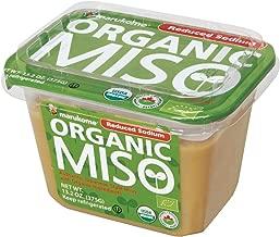 Marukome Organic Broth, Reduced Sodium Miso, 13.2 Ounce