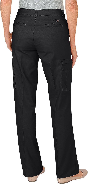 Dickies Occupational Workwear FP2372DN2RG FP2372 Women's Premium Relaxed Straight Cargo Pant, Fabric, 2RG, Dark Navy