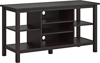 Bush Furniture Broadview TV Stand in Espresso Oak for TV's up to 55 inches