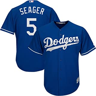 Corey Seager Los Angeles Dodgers #5 Blue Infants Toddler Cool Base Alternate Replica Jersey