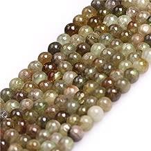 JOE FOREMAN 4mm Green Tsavorite Semi Precious Gemstone Round Loose Beads for Jewelry Making DIY Handmade Craft Supplies 15
