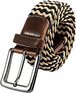 Shanxing Elasticated Woven Belts Webbing Stretch Belt for Men
