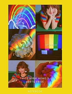 Twice Mirai Momo x LGBTQ Pride Notebook