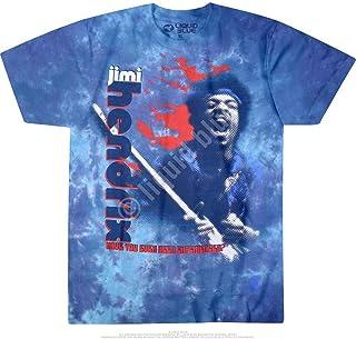 JIMI HENDRIX ジミヘンドリックス (WOODSTOCK 50周年記念) - Fire/タイダイ/Tシャツ/メンズ 【公式/オフィシャル】