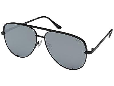 QUAY AUSTRALIA High Key QUAY X DESI (Black/Silver) Fashion Sunglasses