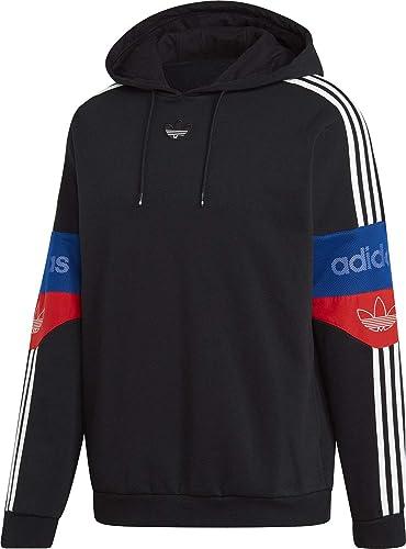 Adidas TS Trefoil Hoody noir rouge Royal