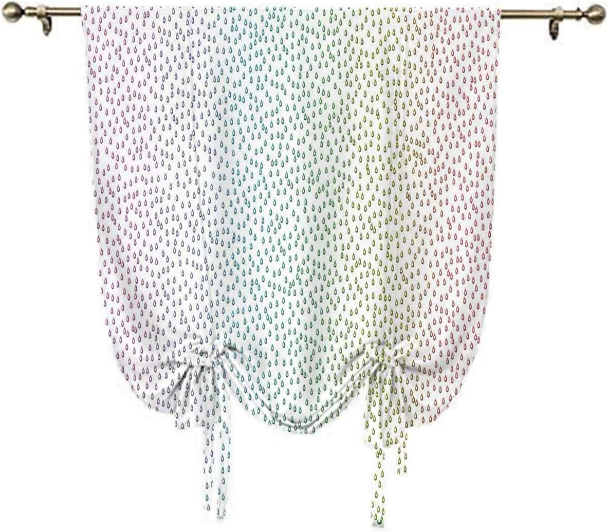 oobon Farmhouse Decor Tie Manufacturer regenerated product Up Fig Panels Gradient Online limited product Shades Downpour