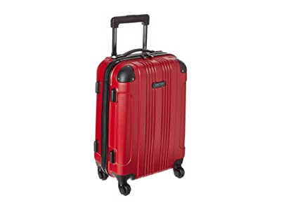 Kenneth Cole Reaction 20 Out of Bounds Lightweight Hardside 4-Wheel Spinner Carry-On Travel Luggage (Red) Luggage