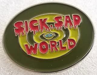 Daria - Sick Sad World Logo Pin