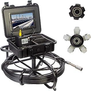 HBHYQ Endoscopio de la tubería de 7 Pulgadas de 23 mm, cámara de tubería, Detector de inspección Interna de tubería, inspe...