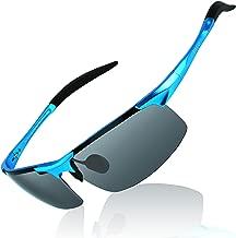 DUCO Mens Sports Polarized Sunglasses UV Protection Sunglasses for Men 8177s