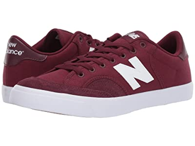 New Balance Numeric NM212 (Burgundy/White 2) Men