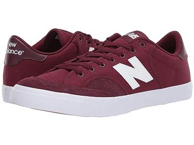 New Balance Numeric NM212 (Burgundy/White 2) Skate Shoes