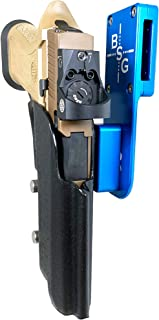 Black Scorpion Outdoor Gear Professional Heavy Duty Competition Holster OWB Kydex fits Sig Sauer P320 X5, X5 Legion; IPSC, USPSA, 3-Gun Approved, Adjustable in All Angles and Retention