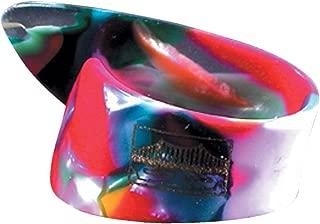 Golden Gate GP-7-4PK Colorful Clown Confetti Thumb Picks - Large - 4 Pack